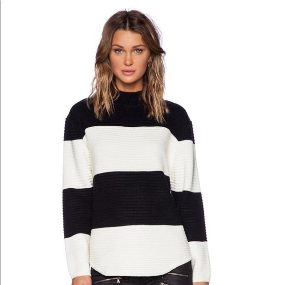 UNIF Bobbie Striped Sweater. M 5b847985283095e7686527ca ad3813e84